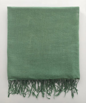 PASHMINA SAGE STOLE - Marie Hell