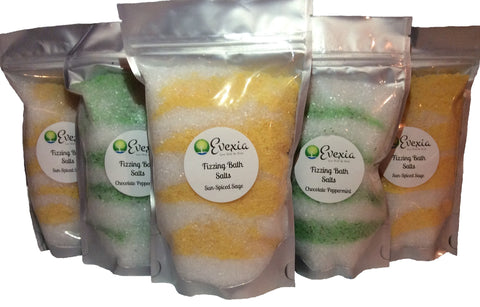 Fizzing Bath Salts