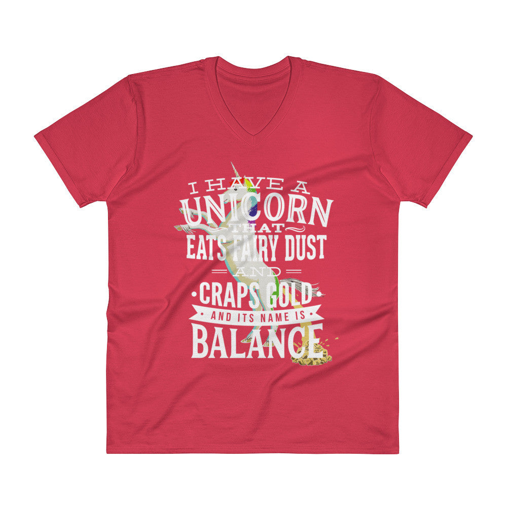 Unicorn V-Neck T-Shirt