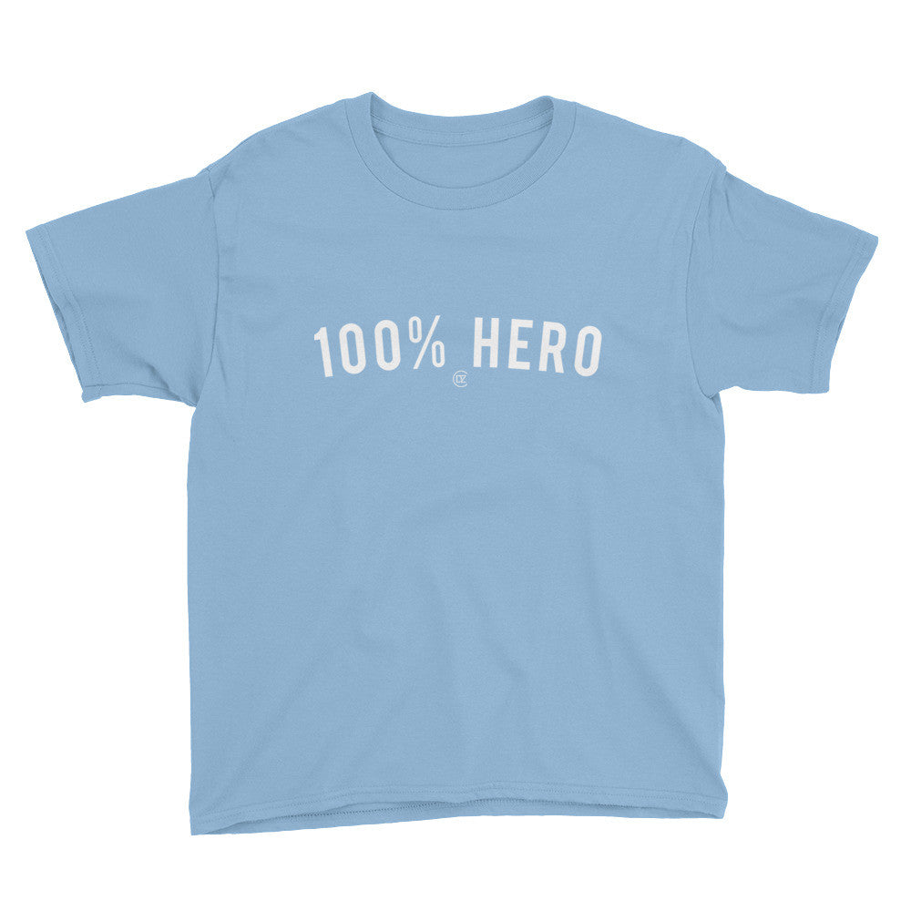 100% HERO Youth T-Shirt