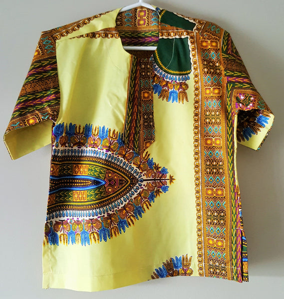 Tunde Dashiki Top - Boys for  <span class=money>$22.00 USD</span>  at Elaborationz