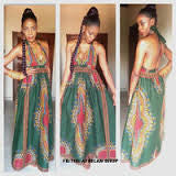 Dashiki Maxi Dresses (20 Pcs) for  <span class=money>$890.00 USD</span>  at Elaborationz