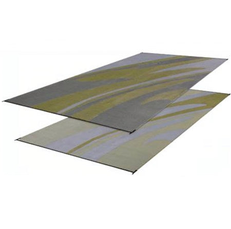 Silver And Gold - Mirage Patio Mat 8' X 20' 01-0073