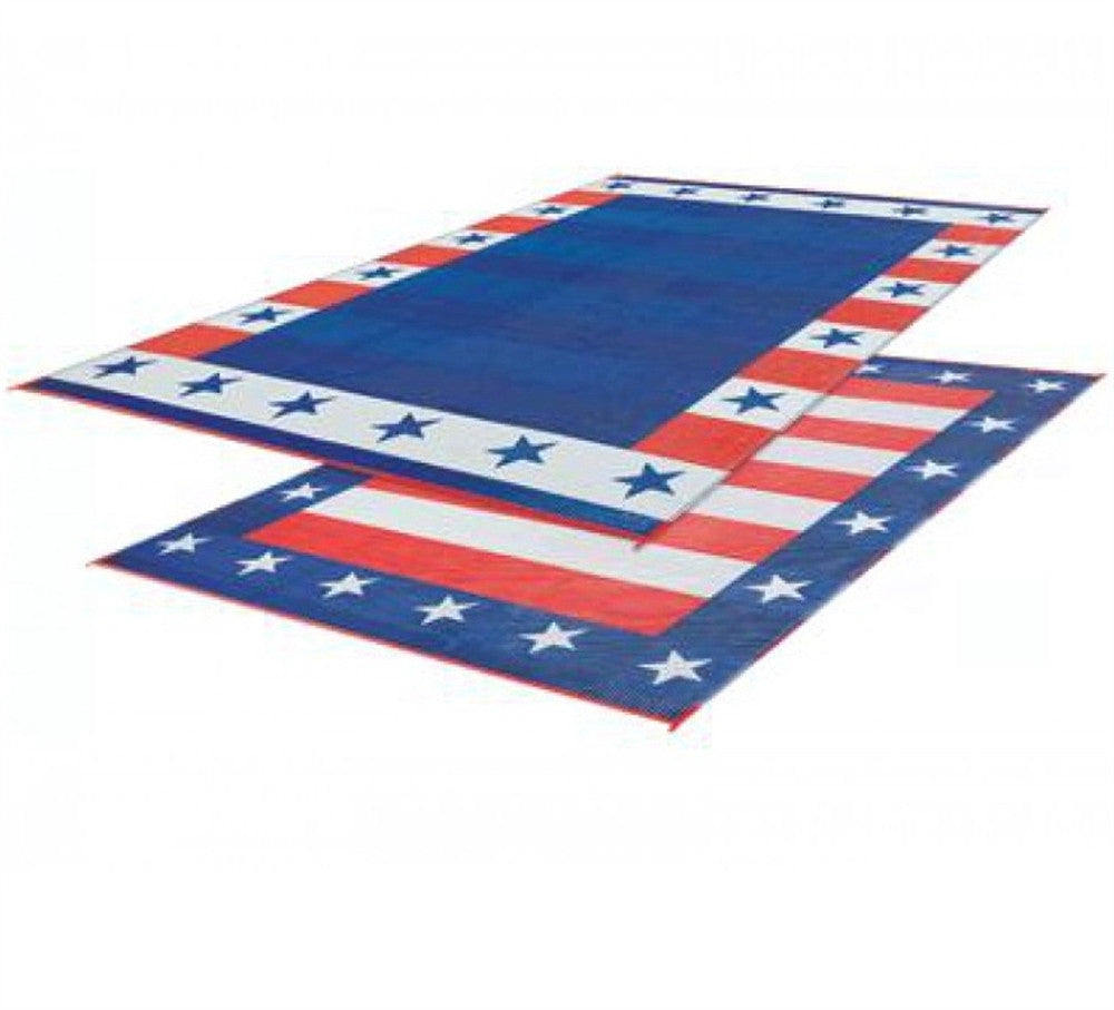 Independence Day Patio Mat 9 X 12 United Rv