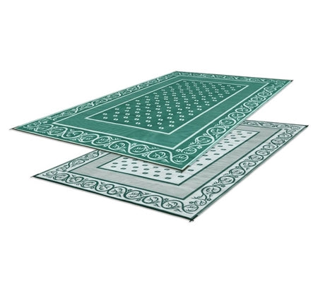 Green - Vineyard Design Patio Mat 6' X 9' 01-0268