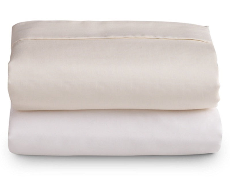 Ivory Microfiber Sheet Set - Narrow King