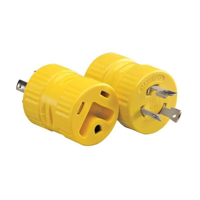 Generator Adapter - 20A 3-Prong Male - 30A Female - 2030GSA