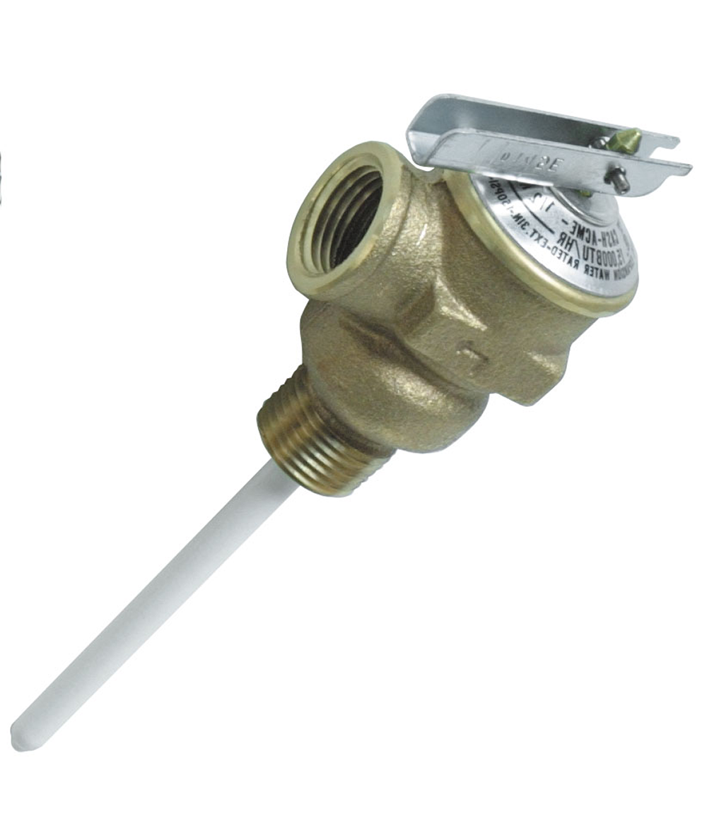 RV Water Heater Relief Valve Atwood - 1/2 Inch
