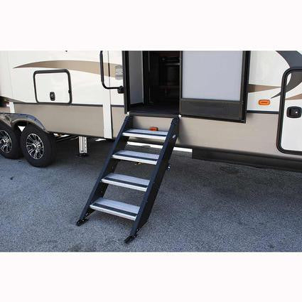 "30"" MorRyde Fold up RV Step 4 Step - STP-4-30-03H"