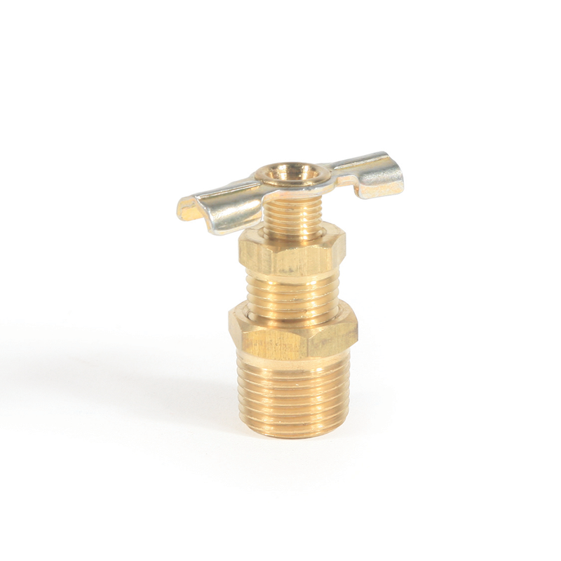 "Water Heater Drain Valve - Brass - 1 / 2"" (E / F) (SKPK) LLC"