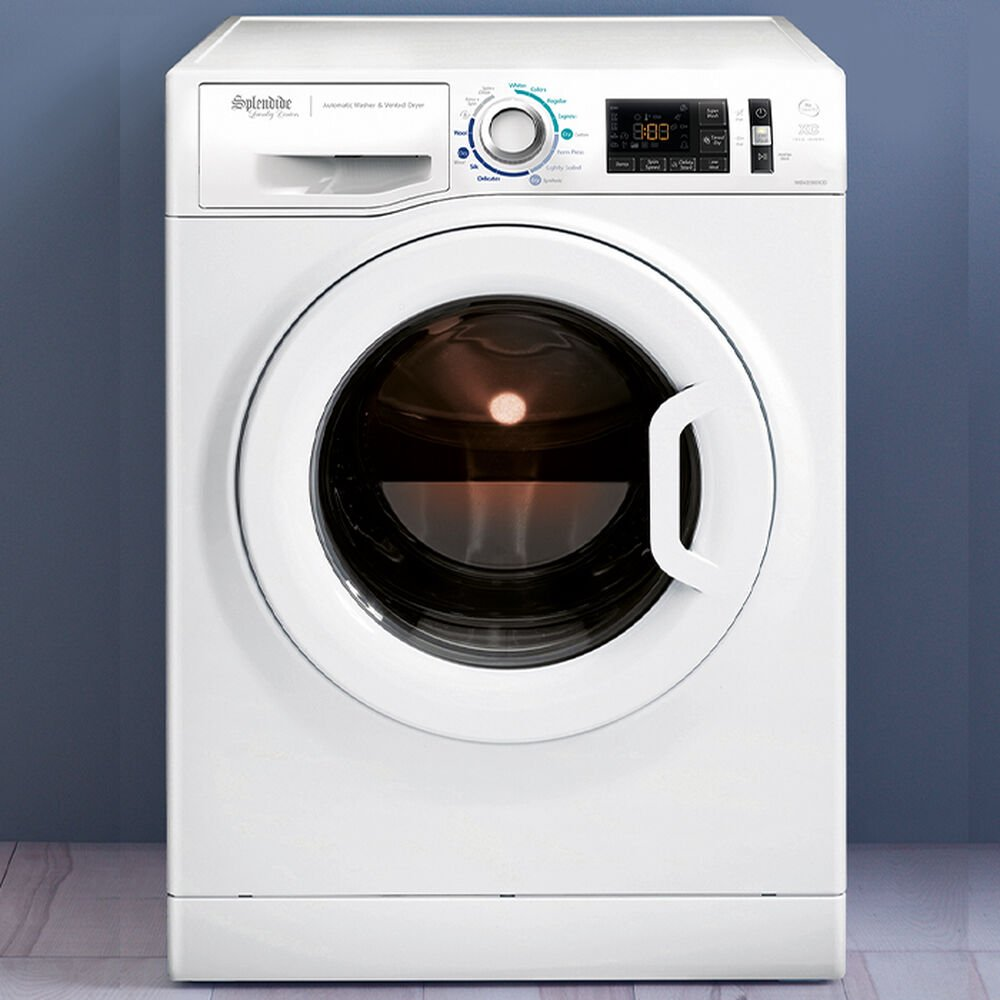 Splendide  2200XC Washer/Dryer - Extra Capacity - Vented - White  WDV2200XCD