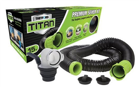 Thetford Titan RV Sewer Hose Kit - 15'  17853  *Limited Quantity Offer!!!