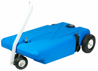 4 Wheeler Tote-Along Portable Holding Tank - 32 Gallon