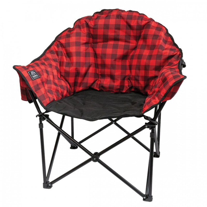 Lazy Bear Chair - Red Plaid - 433-KM-LBCH-RB