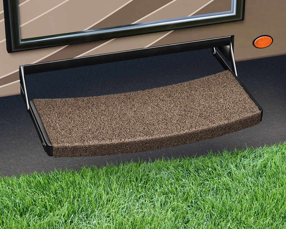 "Trailhead Universal Entry Step Rug - Bucksin Brown - 22"" 2-0220"