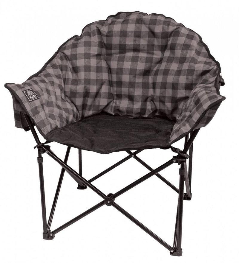 Lazy Bear Chair - Grey Plaid - 433-KM-LBCH-GPB