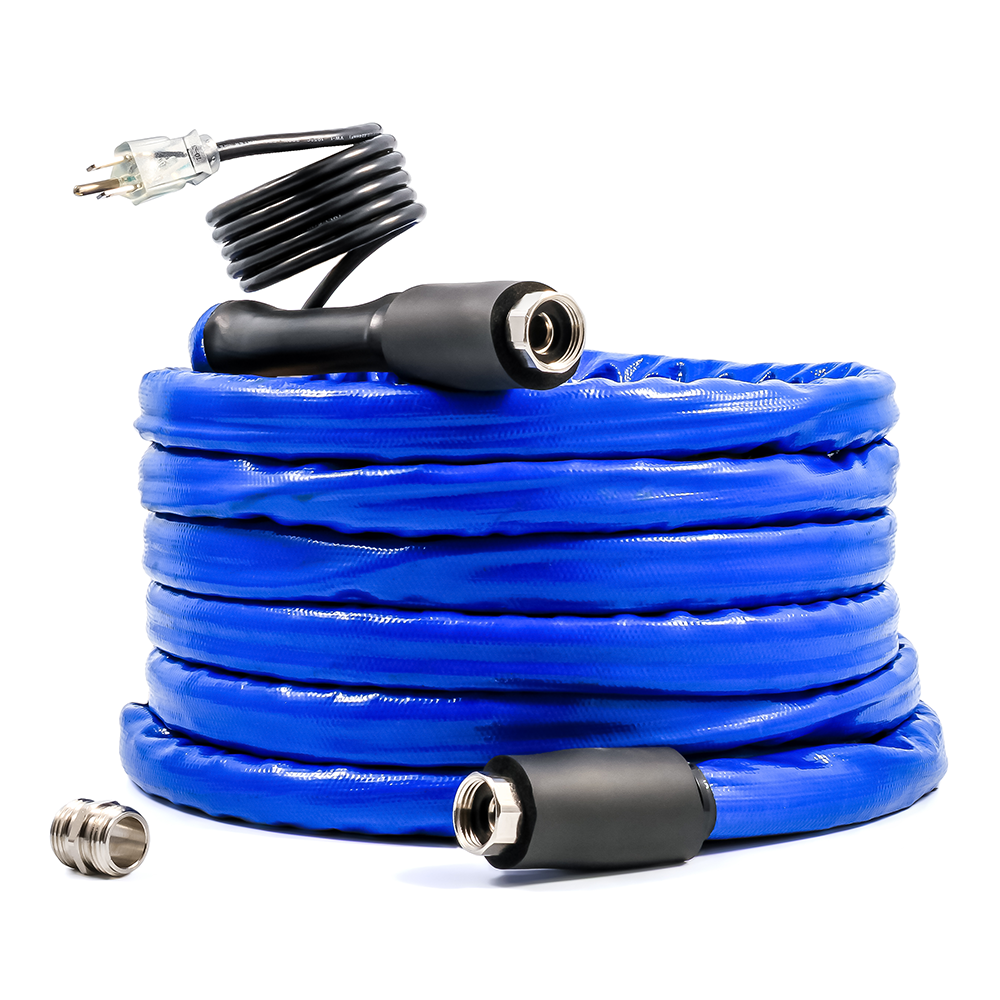 "Heated Drinking Water Hose - 12' - 5/8""ID"