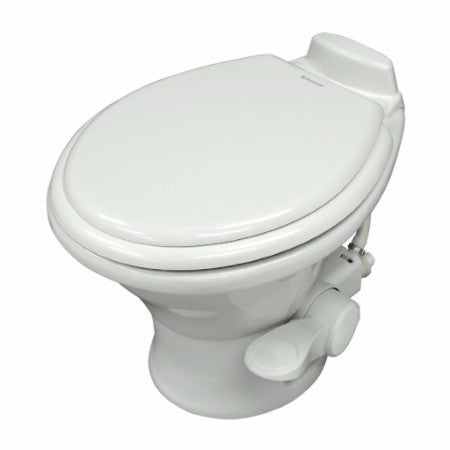 Dometic 311 Low Profile RV Toilet with Spray - White or Bone