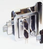 RV Door Lock - Chrome