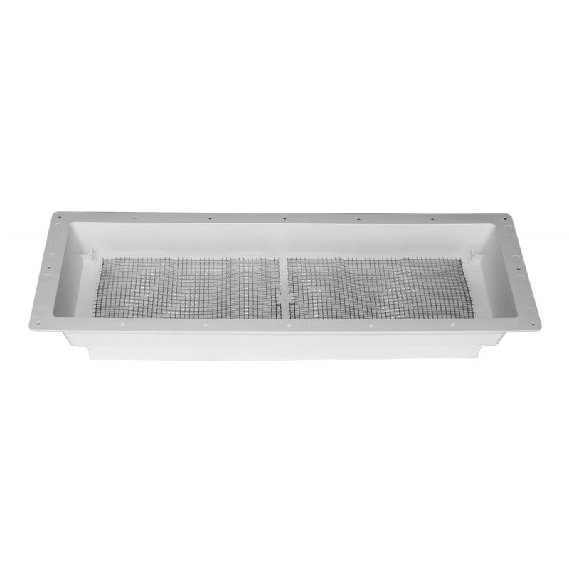 Dometic Refrigerator Roof Vent Base - Polar White  3311237.000