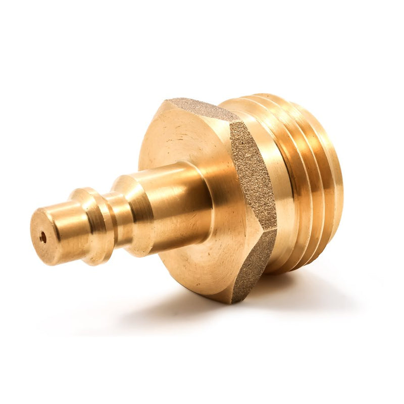 Blow Out Plug - Quick Connect Brass - 36143