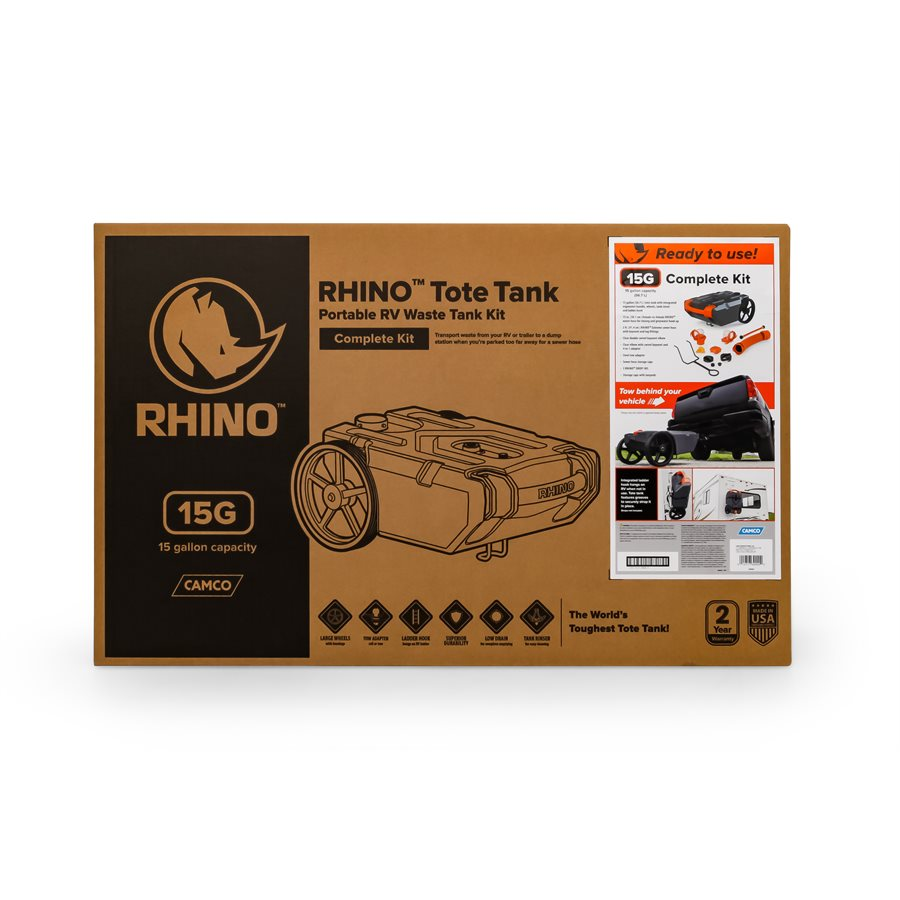 Rhino Portable Holding Tank - 15 gallon  39000