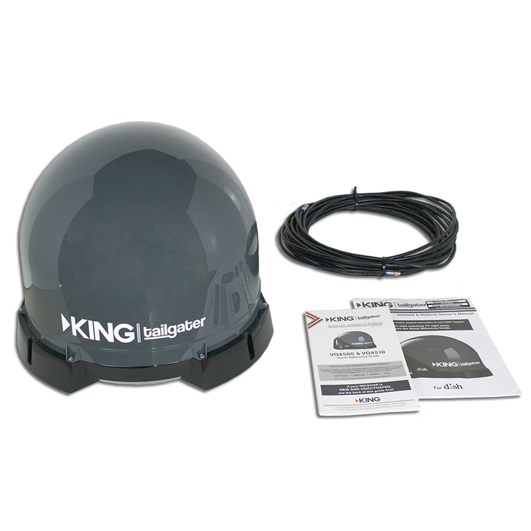 Tailgater VQ4500R by King Controls - DISH  - Reconditioned - 90 Day Warranty