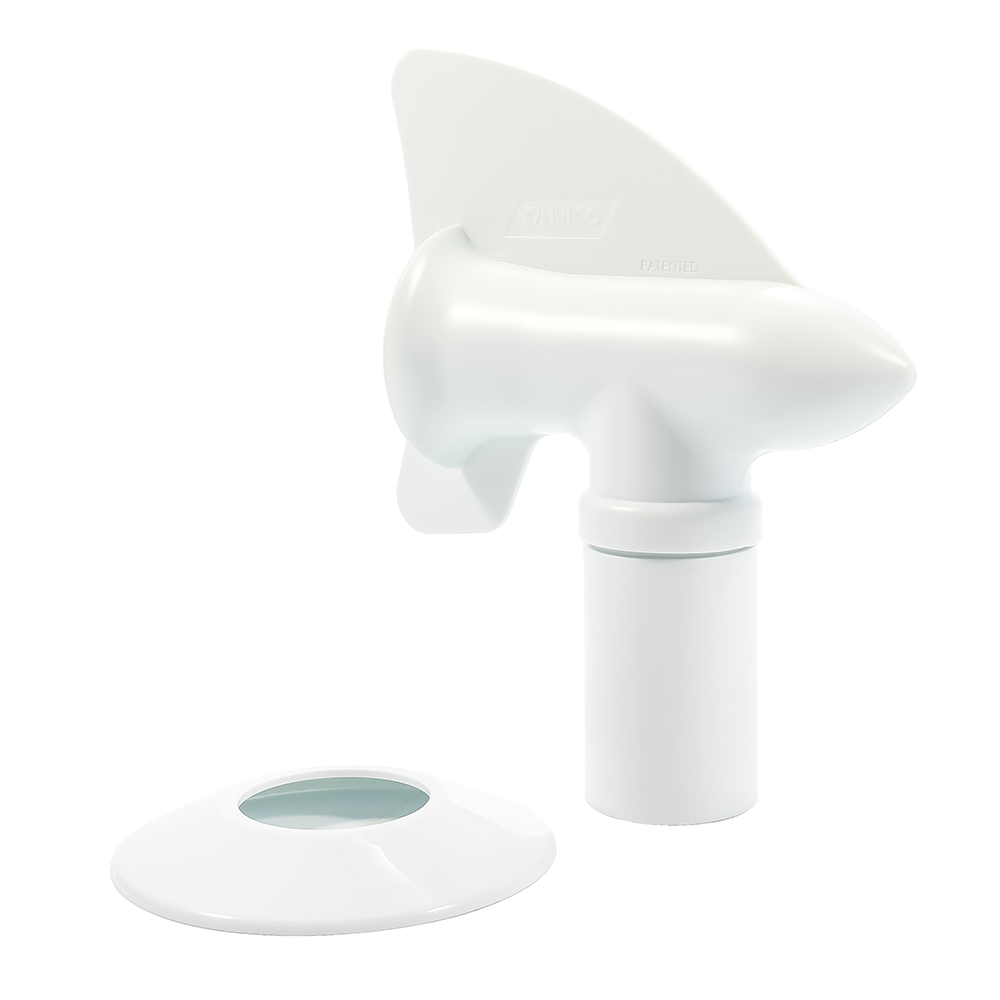 Cyclone RV Plumbing Vent - White