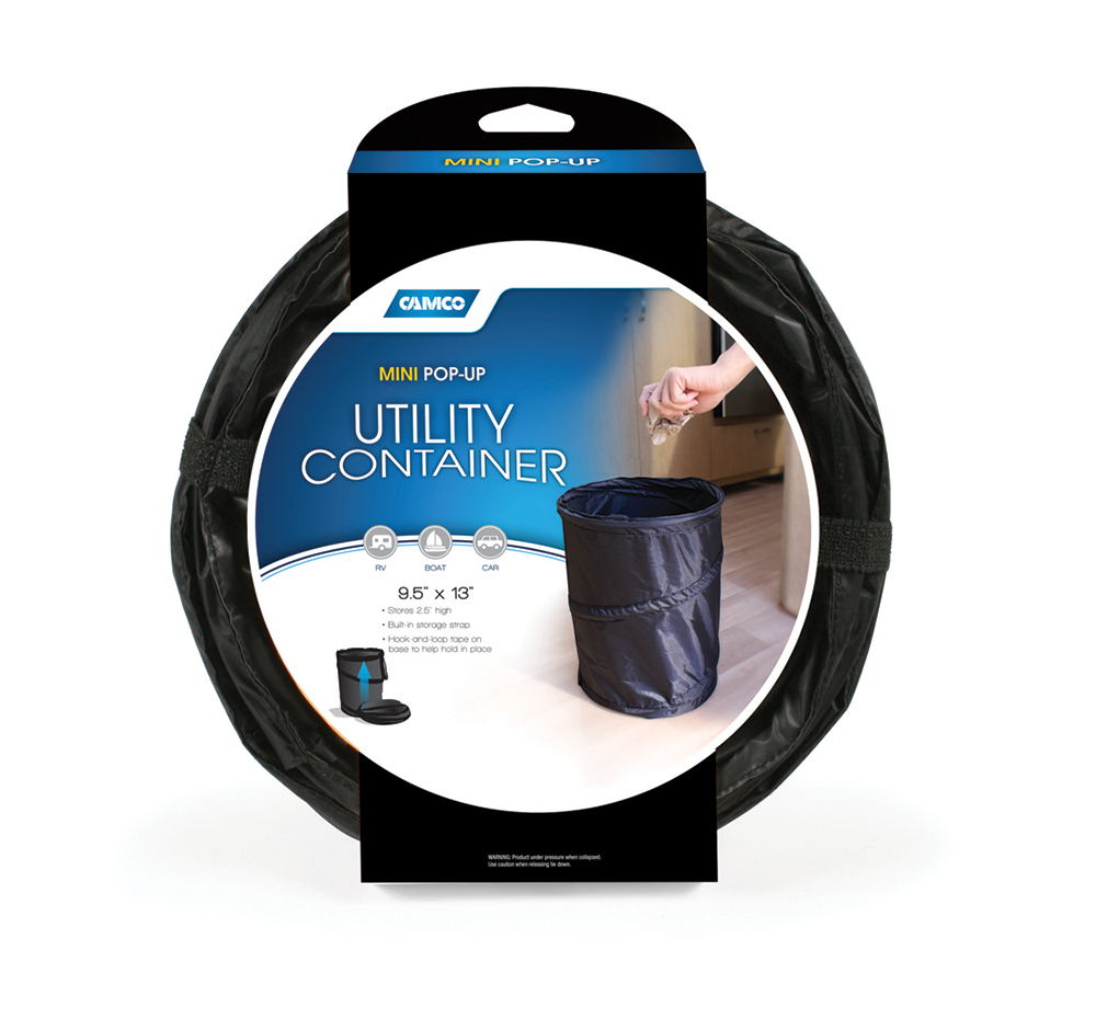 Mini Pop-Up Utility Container