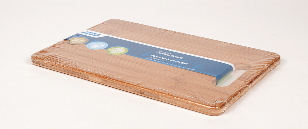 Bamboo Cutting Board - With Handle