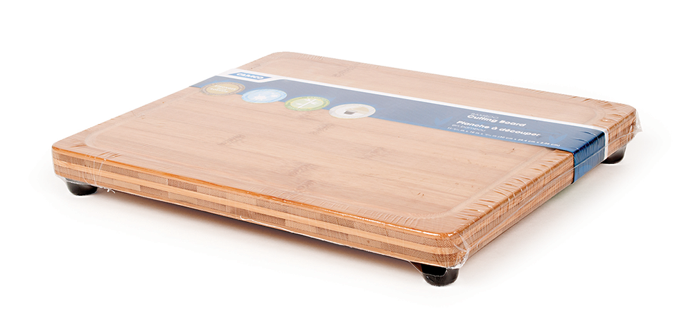 Bamboo Cutting Board - With Feet
