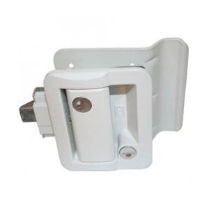 RV Door Lock - White  43610-09
