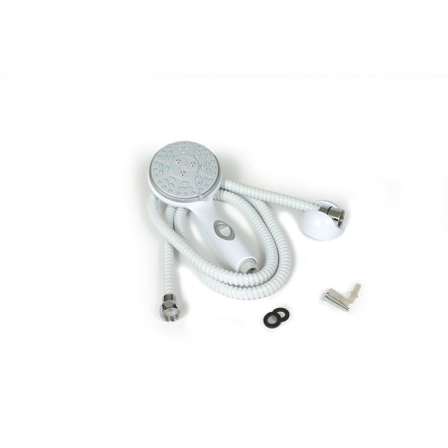 Shower Head Kit - White - w/ On/Off