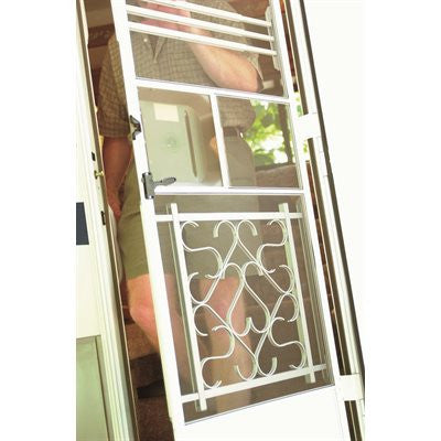 RV Screen Door Push Bar - Aluminum
