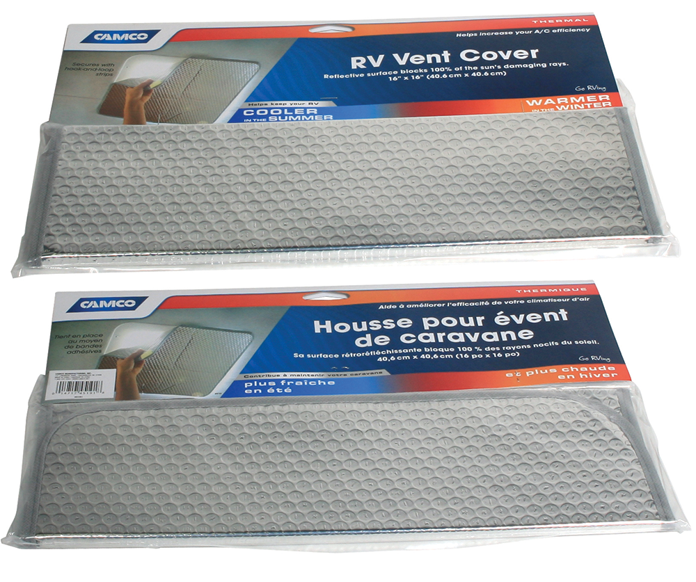 Sunshield Reflective RV Vent Cover