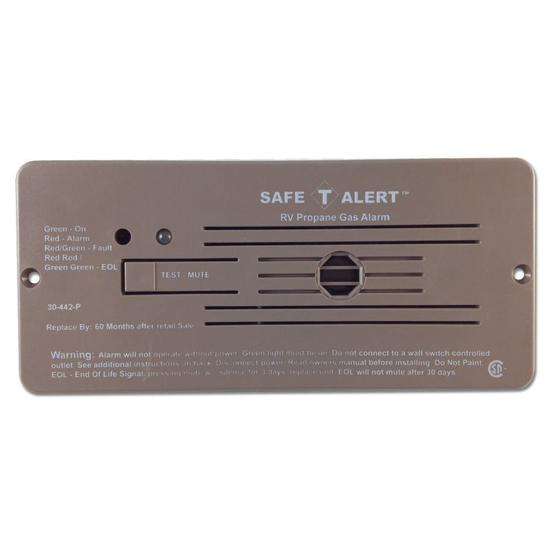Flush Mount LP Gas Detector - Brown - 30-442-P-BR