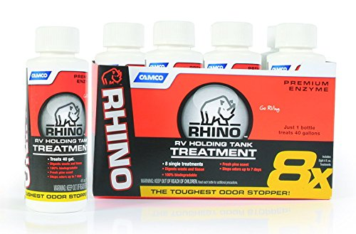 Rhino Toilet Chemical Singles 8-4 oz. Bottles  41511