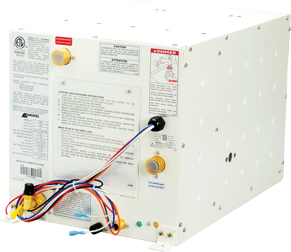 Nautilus On-Demand Water Heater - Tankless 5186A  620015  *Ships Free!  Over -stocked!