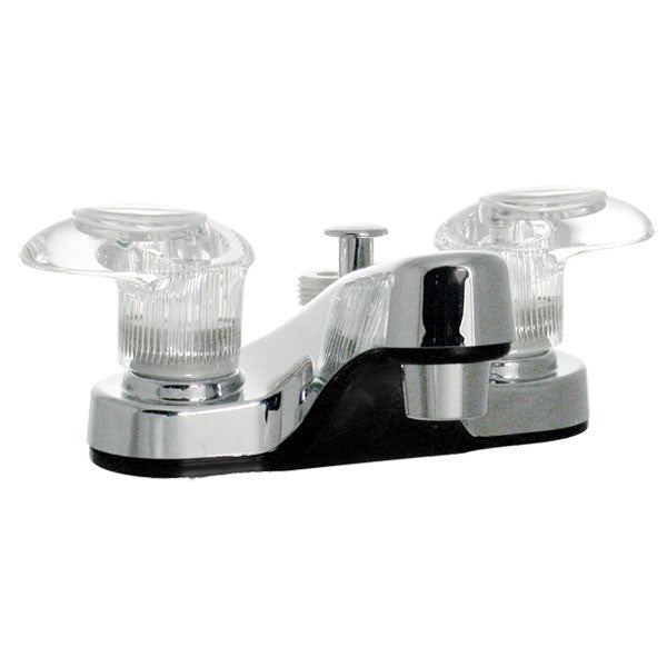 "Catalina 4"" RV Lavatory Faucet Tub Diverter - Chrome"
