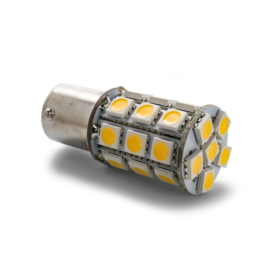 LED - 1156/1141/1073/93 - (BA15S) 27-LED 285lm - Bright White