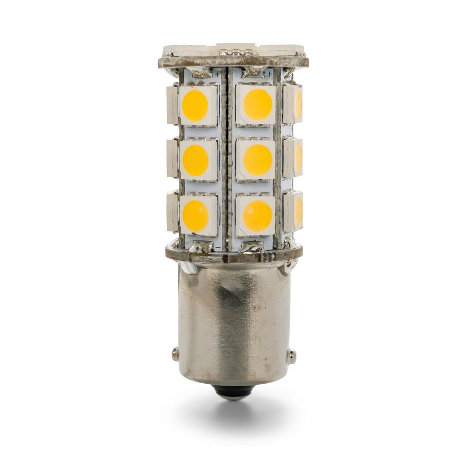 LED - 1156/1141/1073/93 (BA15S) 27-LED 285lm - Bright White(6PK)  CAMCO 54607