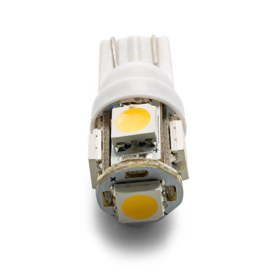 LED - 194/906 - (T10 Wedge) 5-LED 60lm - Bright White