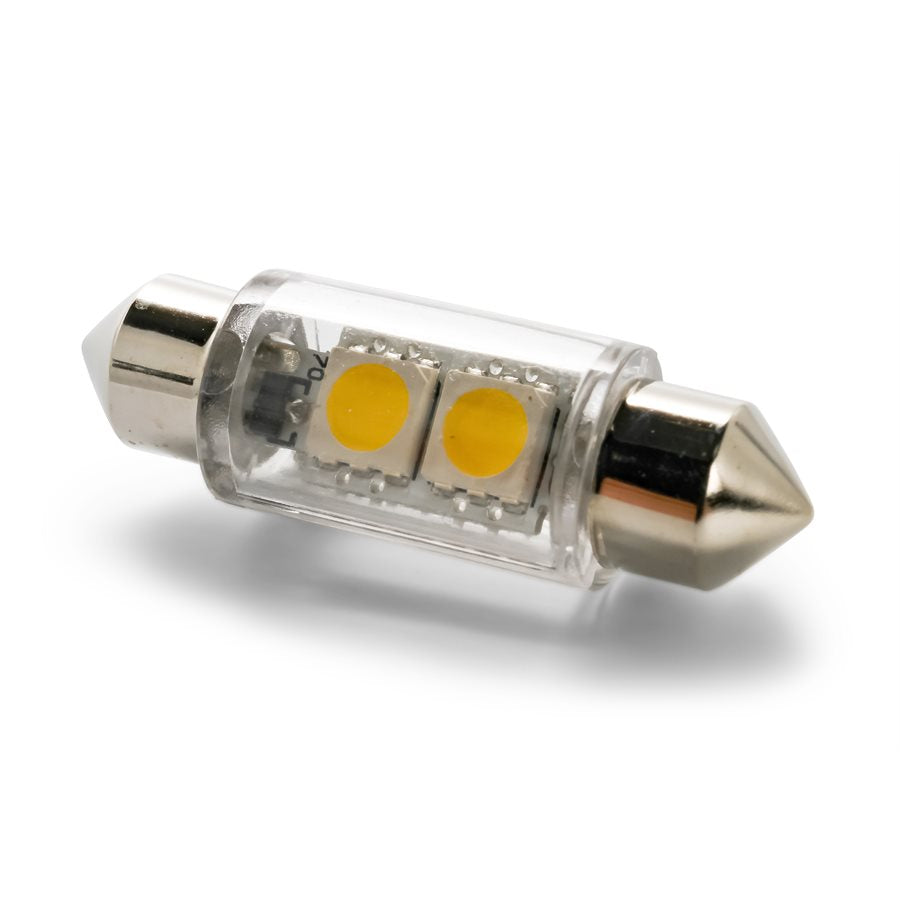 LED - 211/211-2/212-2 - (Festoon), 2-LED 25lm - Bright White