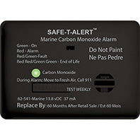 Mini CO Alarm - Surface Mount - Black - 62-541-BL
