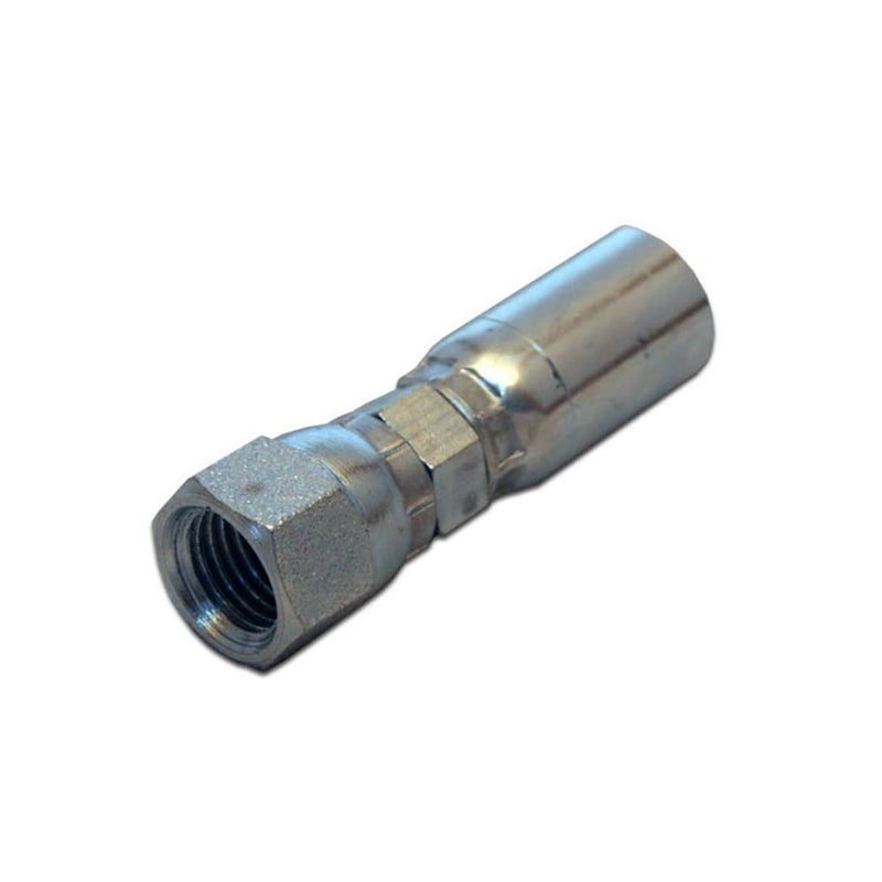 Hydraulic Hose End Fitting (JIC) - Crimp-on Coupling - 138416