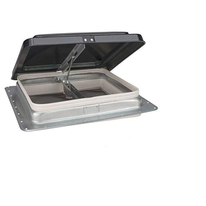 "RV Roof Vent 14"" x 14"" - Smoke  74111-C1G1"