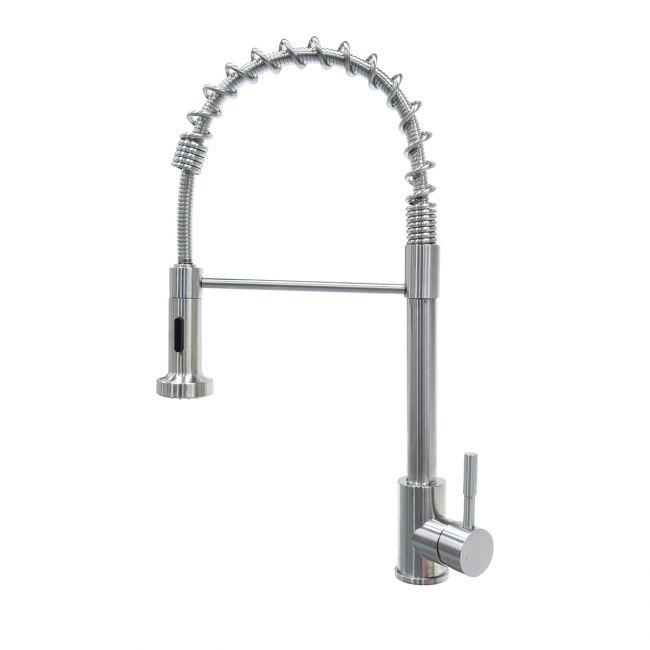 Coiled Spring Sprayer Faucet - Stainless Steel 719323
