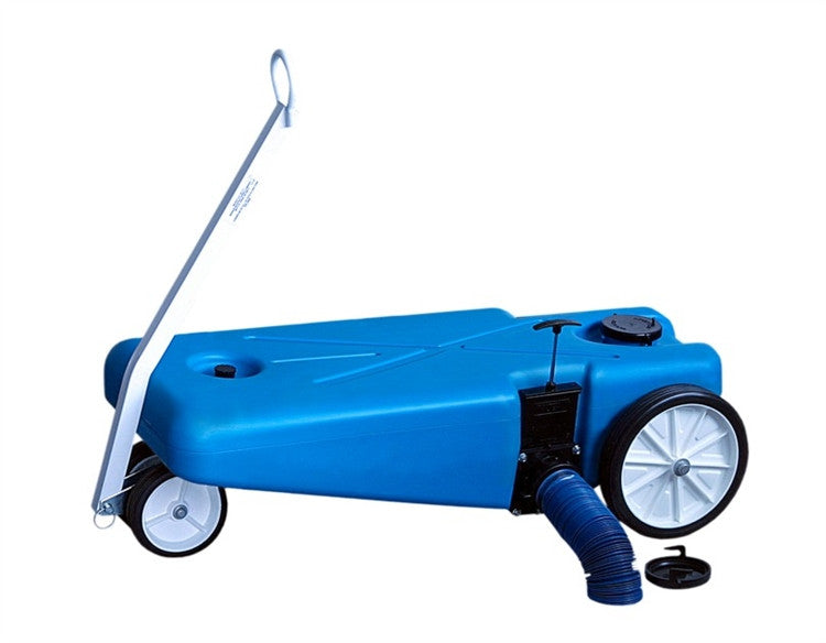4 Wheeler Tote-Along Portable Holding Tank - 16 Gallon