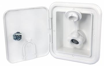 City Water Hatch - Key Lock - Polar White