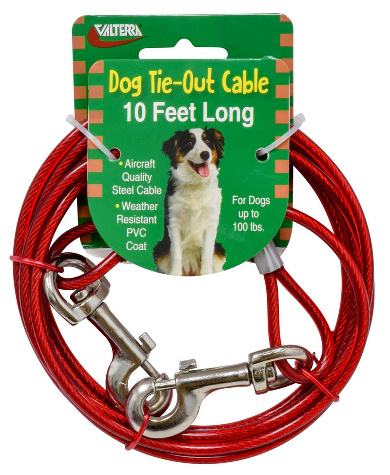 Dog Tie-Out Cable - 10' - A10-2010VP